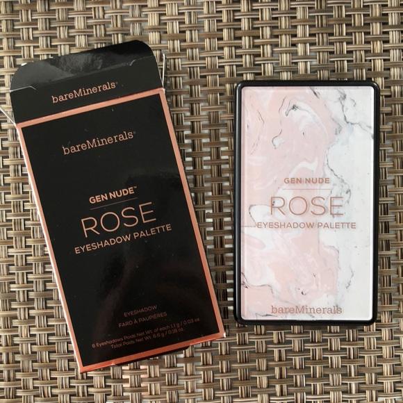 bareMinerals Other - BareMinerals Gen Nude Rose Eyeshadow Palette